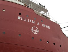 SS William A Irvin.  Duluth Minnesota, August 11 2016. (Dan Haneckow) Tags: 2016 duluth williamairvin
