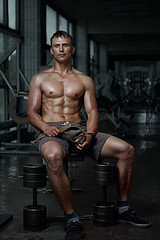 Monday motivation (n_lev44) Tags: ifttt 500px sixpack gym guy muscle fitness training fit bodybuilder athlete muscular man workout healthy strong body exercise model slim diet abs trainer front sexy handsome biceps attractive abdominal push dumbbell retouched