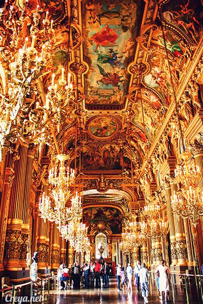 2016.08.21 ▐ 看我的歐行腿▐ 法國巴黎加尼葉歌劇院 19