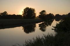 Reitdiep (Arend Jan Wonink) Tags: reitdiep groningen sunset zonsondergang jaagpad hardlopen running