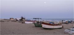 3728-ATARDECER MARINERO EN ISLANTILLA - (HULVA) - (-MARCO POLO-) Tags: rincones atardeceres costas playas barcas ocasos