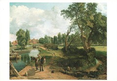 "Flatford Mill ""Scene on a navigable River"" (Liz Pidgeon) Tags: postcard painting johnconstable"