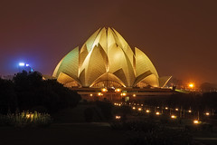 lotus-temple-night (AnilGoyal Pixelart) Tags: anilgoyalpixelart anilgoyal night canon canon1585 wideangle lotus temple lotustemple bahai