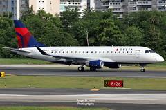 Delta Connection (Skywest Airlines) / Embraer ERJ-175LR / N242SY departure from TJSJ (Angel Moreno Photography) Tags: deltaconnection skywestairlines embraererj175lr n242sy departure tjsj airplane plane aircraft planespotter delta embraer e175 runway8