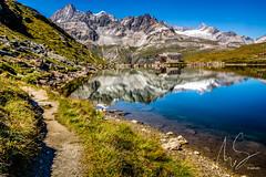IMG_20160825_C700D_016HDR.jpg (Samoht2014) Tags: bergsee kapelle landschaft schwarzsee spiegelung wasser zermatt wallis schweiz