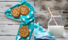Milk & Cookies (johnsikianakis) Tags: food foodphotography foodstyle foodstyling foodphoto foodphotographer style styling summer sweet soft taste tasty dessert colors cookie cookies milk glass breakfast white morning eat healthy