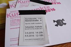 Kunstpunkte 2016 BARTOTAINMENT (bartotainment) Tags: barto bartotainment streetart ausstellung duesseldorf dsseldorf tapeart kunstpunkte