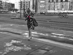 Hanging On The Telephone (Bricheno) Tags: scotland escocia schottland cosse scozia esccia szkocja scoia    bricheno glasgow candid girl blonde woman