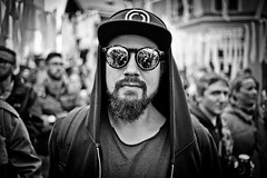 #Reykjavik #Iceland Meeting with this fun guy with great sunglasses ! #PartyTime #Leica #LeicaCamera (albericjouzeau) Tags: blackandwhite sunglasses guy party reykjavik iceland islande photo picture portrait rock reflet reflection partytime music travel trip voyage shooting tournage leica leicacamera monochrome streetphotography street