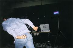 Christmas party (Gary Kinsman) Tags: hampsteadstudentcampus hampstead childshill nw3 kidderporeavenue london 2001 film kingscollegelondon kcl hallsofresidence studentcampus students university fun youth young party christmasparty candid unposed dance dancing flash