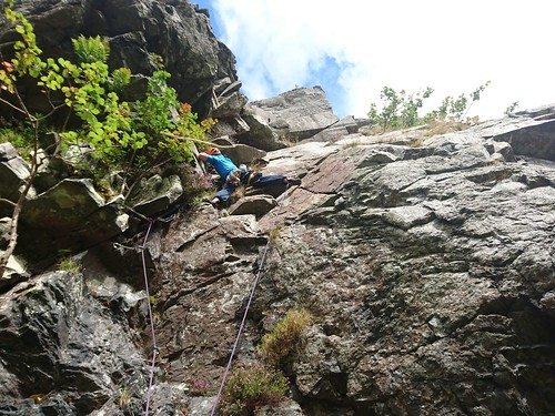 Hideaway Crag, Glen Lednock