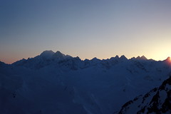 Haute Route (czpictures) Tags: hauteroute mountains ski touring switzerland glacier mountaineering alpinism 4000er sunset