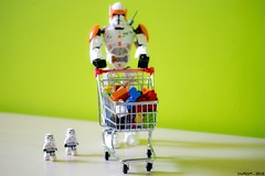 Supermarket (iSchumi) Tags: trooper starwars clone commander cody bricks super market nikon d3100 lego minifig legography