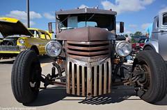 1947 Chevy Pick-up Rat Rod (photo_maan) Tags: ks vintage rebuilt antique event carshow customcars kansas refurbished cars car 1947 1947chevy chevy pickup rod streetrod hotrod classic
