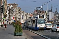 P2400295 (Lumixfan68) Tags: strassenbahn tram gvb amsterdam
