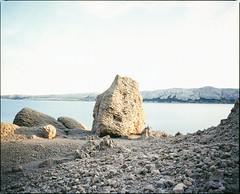Pag Island, Croatia, 2015. (wojszyca) Tags: mamiya rz67 6x7 120 mediumformat 110mm fuji fujichrome velvia 100f rvp100f gossen lunaprosbc epson 4990 landscape nature rock pag island croatia sea