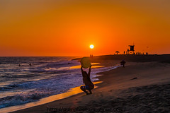 PRAISE TO THE GOD OF HELIOS & HUEY (Tom Pumphret) Tags: 5dmark3 beach california godofhelios godofhuey photography socal surf surfing travel waves canon sun sunset surfer water newportbeachthewedge ca america