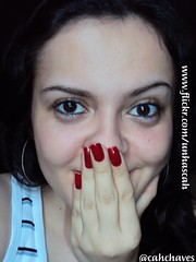 Dote - Diana (Camila (unhas)) Tags: red woman girl vermelho nails nailpolish unhas rednails dote esmalte unhasvermelhas