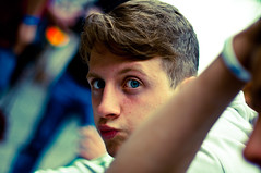 Giuseppe (Francesco Patroncini Photography) Tags: blue boy portrait 50mm eyes nikon colours bokeh occhi ritratto nikond90