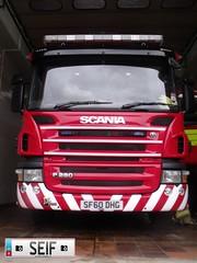 Scania P280 Glasgow2012 (seifracing) Tags: rescue fire edinburgh britain glasgow scottish pump british appliance pompier strathclyde feux seifracing