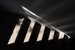 My Staircase Triangle (zeevveez) Tags: light abstract stairs canon triangle geometry zeevveez