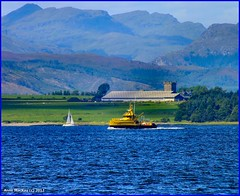 Scotland river Clyde SD Eva passing Roseneath 30 August 2012 by Anne MacKay (Anne MacKay images of interest & wonder) Tags: river scotland clyde eva august sd passing 2012 roseneath photobyannemackay