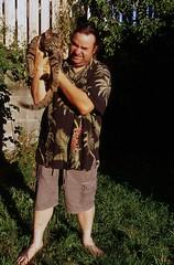 Day 228/365 - That damn cat (Great Beyond) Tags: temp portrait pet pets hot color cute slr love film analog cat 35mm eos mackerel iso100 kitten feline kodak tabby pussy adorable kitty slide august ishootfilm slidefilm tony 35mmfilm kitteh meow 365 eastman sponge slides ektachrome 3000v pussycat 2012 mackereltabby tabbycat canonrebelti kodakfilm hotpussy 366 eastmankodak kodakektachromee100vs project365 lovesponge filmisnotdead americantabby thecatwithnoname ektachromee100vs canoneosrebelti kittehs project3651 project366 americanshorthairtabby temporarycat wildpussy thetemporarycat americanshorthairedtabby august2012 rokinon35mmf14aspherical