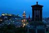 Edinburgh (Perry McKenna) Tags: scotland twilight edinburgh edinburghcastle bluehour week36 balmoralhotel caltonhill 2012 522012 52weeksthe2012edition weekofseptember2