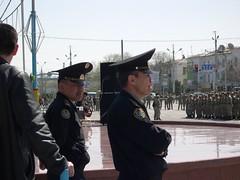 More police (upyernoz) Tags: police kazakhstan taraz    dostyksquare victorydayrehearsal