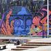 Uno de tanti graffiti nel barrio de la Candelaria