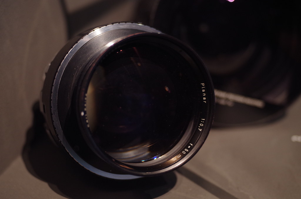 "Kubrick's f0.7(!) lens used for the candlelit scenes in ""Barry Lyndon"""