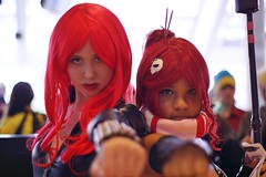 Black Widow and Yoko - Baltimore Comic-Con 2012 (Stephen Little) Tags: day2 costumes comics costume cosplay comicbook heroes blackwidow cosplayer comiccon con avengers bcc daytwo cosplayers costumers costumeplay 50mmf17 minolta50mmf17 gurrenlagann baltimorecomiccon minoltaaf50mmf17 minolta50mm sonya77 jstephenlittlejr slta77 sonyslta77 sonyslta77v sonyalphaslta77v bcc2012 baltimorecomiccon2012