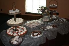 "cupcakes, cakeballs and cookies grooms table • <a style=""font-size:0.8em;"" href=""http://www.flickr.com/photos/60584691@N02/7977166258/"" target=""_blank"">View on Flickr</a>"