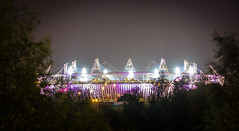 Olympic Stadium (London) (Seitrams) Tags: longexposure london nightshot olympics olympicstadium olympicpark stratford paralympics london2012 yahoo:yourpictures=yoursummer