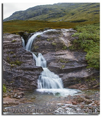Waterfall (Muzammil (Moz)) Tags: scotland waterfall fortwilliam moz dalness muzammilhussain