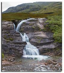 Waterfall (Muzammil (Moz)) Tags: scotland waterfall fortwilliam moz dalness muzammilhussain