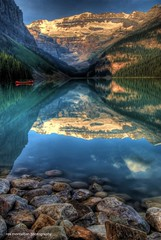 a wonderful life (Rex Montalban) Tags: lake canada louise alberta banff hdr nationalgeographic banffnationalpark canadianrockies rexmontalbanphotography