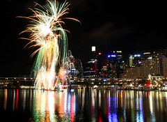 Darling Harbour Fireworks (CarlosSilvestre62) Tags: fireworks sydney australia darlingharbour darlingharboursydney darlingharbourfireworks carlossilvestre62