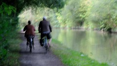 Cyclers (wetbicycleclappersoup) Tags: icm intentionalcameramovement