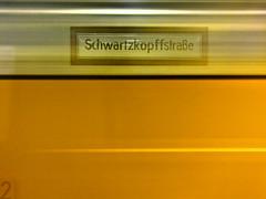 Schwartzkopffstrae (glamorous_disasters) Tags: longexposure portrait berlin self subway metro autoretrato reflejo ubahn schwartzkopffstrase felipesuarez
