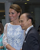 Catherine, Duchess of Cambridge aka Kate Middleton attends a reception in Kuala Lumpur
