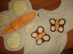 Jogo de Banheiro (D'Corao by L Betti) Tags: patchwork jogo banheiro borboletas costura