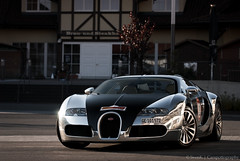 Sparkling Veyron! (SvenK | Carspottography) Tags: sunset photoshop germany photography one nikon 5 gimp chrome finish editing 28 nikkor limited bugatti sang sven rare 70200 pur supercars veyron lightroom nordschleife nrburgring carspotting svenk hypercar d3000 worldcars klittich carspottography