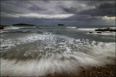BORRASCA (Pepe Rosell) Tags: sea sky seascape storm island atardecer rocks mediterranean mediterraneo wave ibiza nubes tormenta rocas ola islote waterscape mediterranee