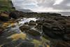 Queens Bath (Tōn) Tags: ocean sea seascape clouds landscape hawaii lava unitedstates pacificocean kauai balihai waterscape queensbath wainiha cloudspacific tonyvanlecom