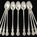 "Lot 2029.  Set of (12) Gorham ""Fleury"" Iced Tea Spoons"