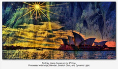 Sydney Opera House with iPhone