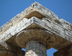 """Hera I (""""The Basilica"""") corner capital"""