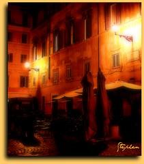 ~ Piazza Santa Maria in Trastevere @ Night ~ (stephgum32807) Tags: italy rome roma italia piazzasantamariaintrastevere