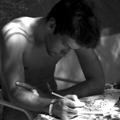 Simone (Renato A.) Tags: portrait bw carlzeiss hasselblad500cm hc110b kodaktxp320 zeisssonnarc1504 ritrattodestate